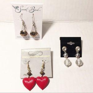 Robin's Nest Earrings - 3 Sets of Earrings